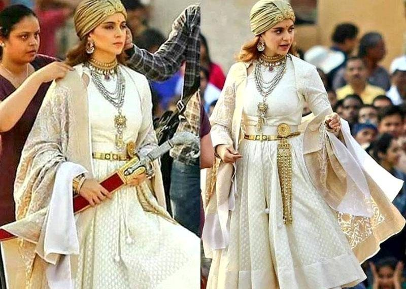 """In the sets of """"Manikarnika: The Queen of Jhansi"""""""