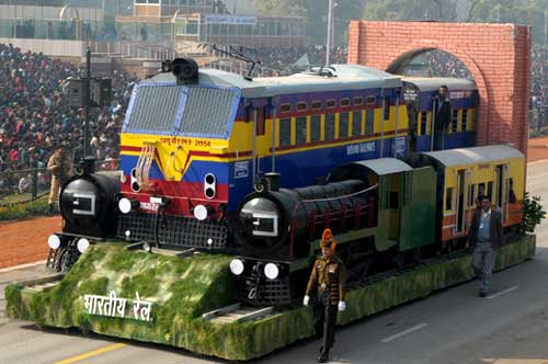 "100-year-old ""Punjab Mail"" theme of Indian Railways Republic Day tableau (Representational Image)"