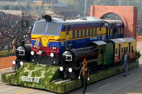 "100-year-old ""Punjab Mail"" theme of Indian Railways Republic Day tableau (Representational Image)"