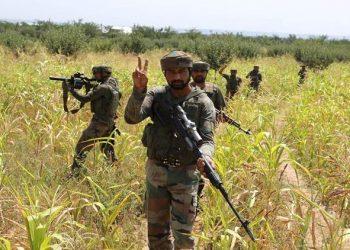 From the three militants killed Saturday one has been identified as top commander Zeenat-ul-Islam alias Zeenat alias Usman (PTI)