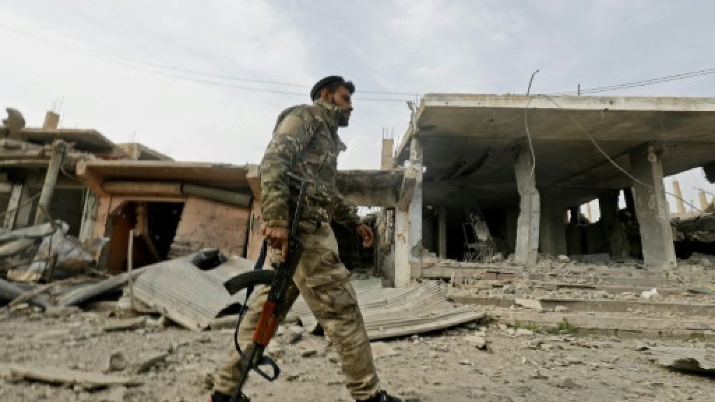 Syrian Democratic Forces close in on last IS-group pocket in Syria