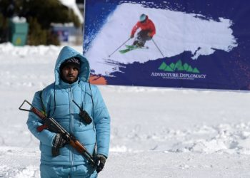 Pakistan remains off-piste for most winter sports enthusiasts after years of conflict and a lack of infrastructure (AFP)