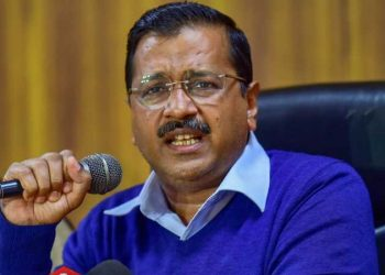 Arvind Kejriwal said his government would provide round-the-clock clean drinking water supply by 2024