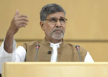 Nobel Laureate Kailash Satyarthi