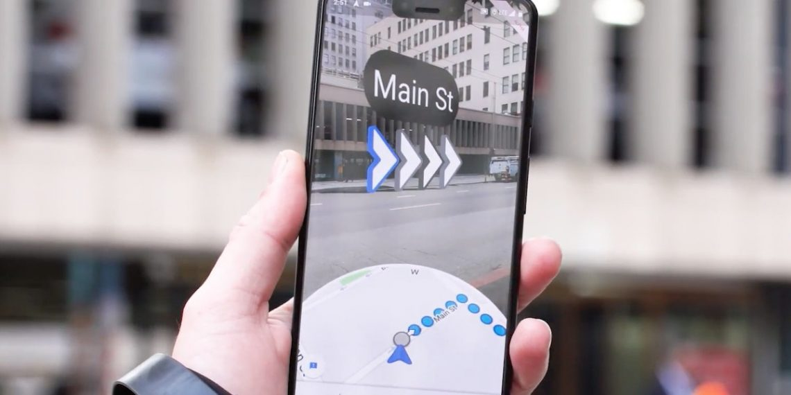 , Google Maps AR navigation feature testing begins for select users