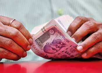 Rupee opens 5 paise down at 68.59 vs USD