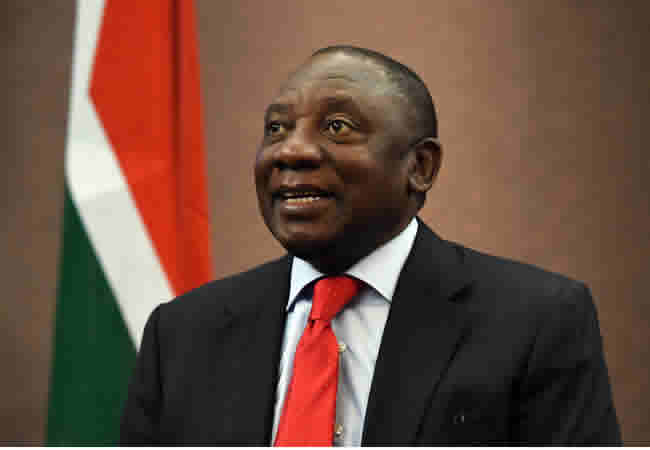 , S Africa goes blind ahead of election