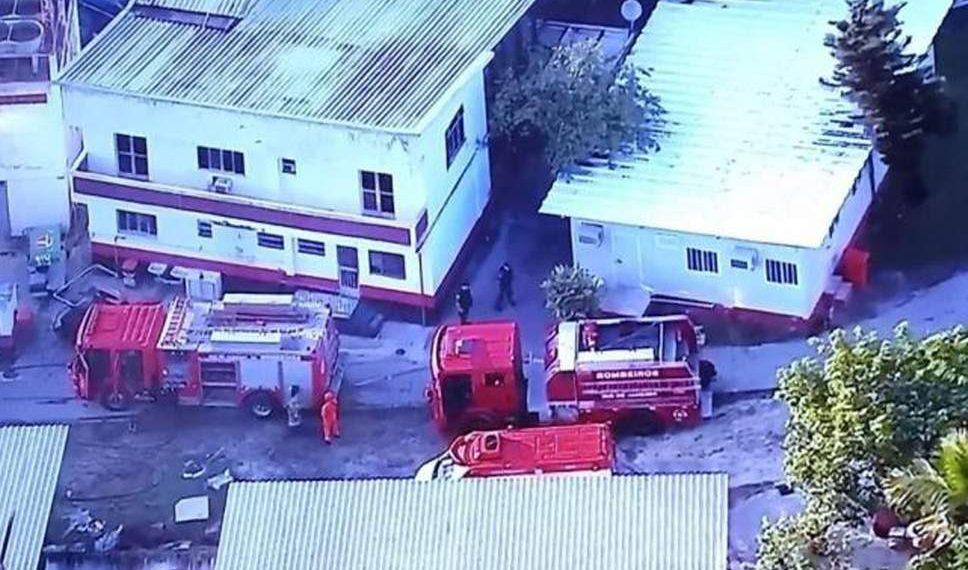 , 10 killed in Brazil football club fire
