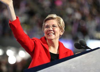 Democrat Senator Elizabeth Warren