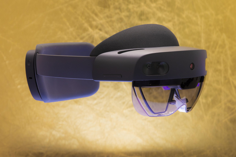 Microsoft introduces HoloLens 2, AI camera for developers