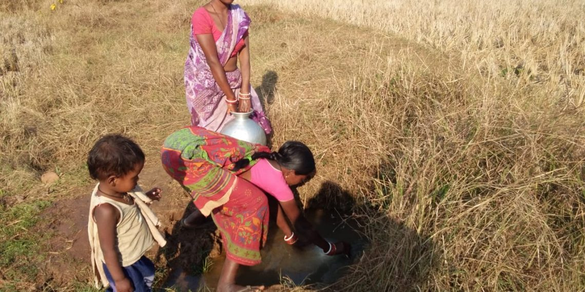 , Villagers drink pit water as tube wells go defunct