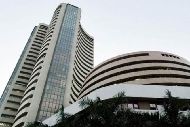 Sensex falls 150 points on weak global cues