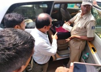 Cash worth lakhs seized from BJP in-charge's car