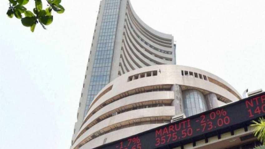 Sensex drops over 100 pts; bank stocks drag