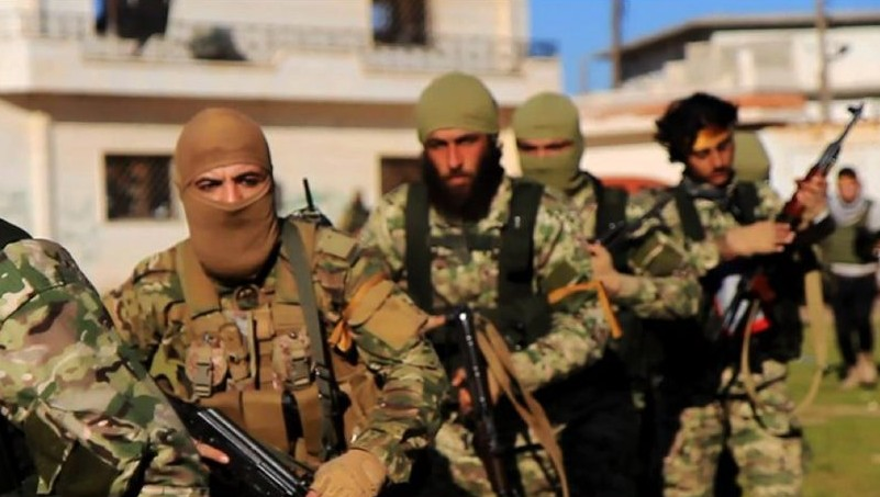 The Syrian Observatory for Human Rights says the regime forces were killed by Ansae al-Tawhid jihadists.
