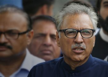 Alvi said India's actions jeopardised peace in the region. (Image: Reuters)