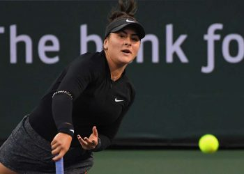 Andreescu grabbed a slice of history when she became the first wild card to reach the women's final in the California desert.