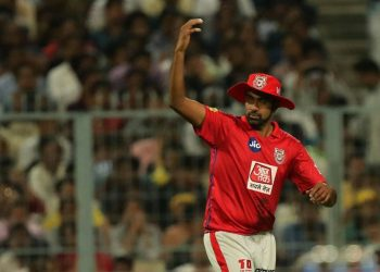 The KXIP skipper took the blame for having one fielder short inside the 30-yard circle, prompting the umpire to signal for a no-ball.