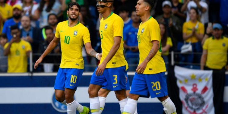Next for Brazil is Tuesday's friendly against the Czech Republic as they prepare to host this year's Copa America which starts June 14.