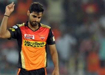 Bhuvneshwar Kumar is one of the key players in Sunrisers Hyderabad.