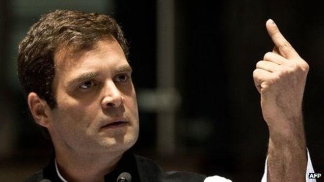 Congress president Rahul Gandhi (AFP)