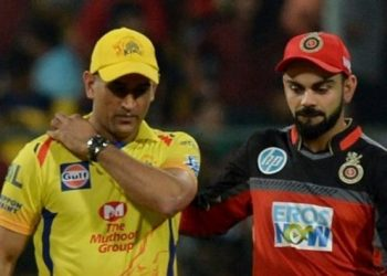 While RCB were out for 70 in 17.1 overs, CSK scored the runs in 17.4 overs and Dhoni made it clear that he would expect better wickets in the coming games. (Image: BCCI)