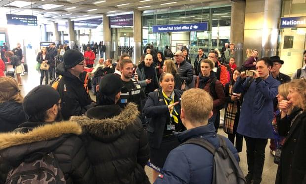 Train company Eurostar suspends United Kingdom services due to trespasser