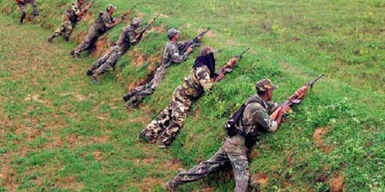 Commando Battalion for Resolute Action (CoBRA) in action [representational Image] (PTI)