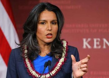 Gabbard cited her experience serving in Iraq as informing her approach to Syria. 9Image: Reuters)