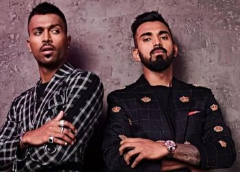 Pandya and Rahul had been suspended briefly for their inappropriate conduct in a chat show and were flown back from the team during the Australia series.