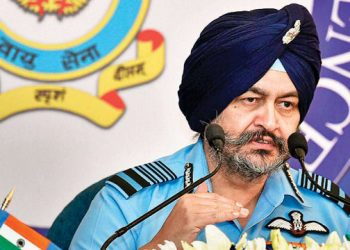 Air Chief Marshal B S Dhanoa (PTI)