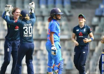 Chasing 112 for an unassailable 2-0 lead in the three-match series, England completed the task in 19.1 overs, holding nerves after losing a few quick wickets.