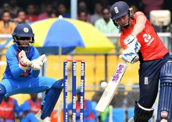 With this win, England inflicted a 3-0 whitewash on India.