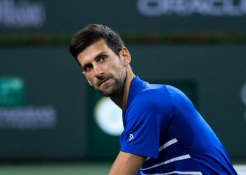 Novak Djokovic and naomi Osaka were both ousted from Indian wells here, Tuesday.