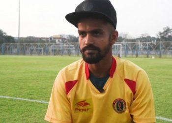 East Bengal striker Jobby Justin