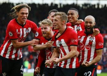 Ward-Prowse's stunning free kick winner left Spurs third on 61 points.