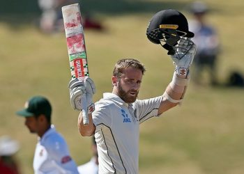 Williamson suffered a shoulder injury while fielding in Bangladesh's first innings of the second Test in Wellington. (Image: Reuters)