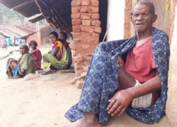 Anthrax hit elderly struggles to survive