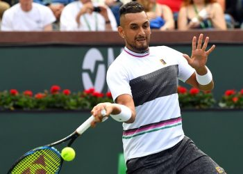 A break of serve in each set was enough to give Kohlschreiber, ranked 39th in the world a 6-4, 6-4 victory over 33rd-ranked Kyrgios. (Image: reuters)