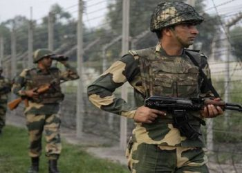 Line of Control close to the Uri sector in Jammu and Kashmir