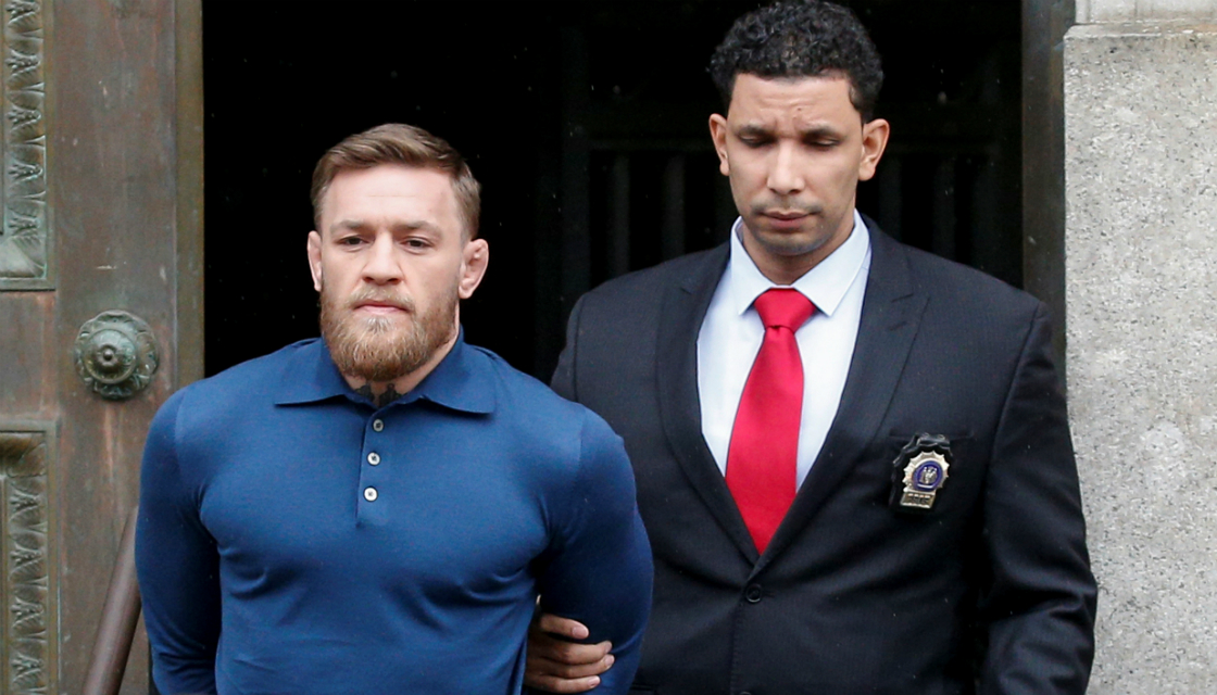 Conor McGregor Arrested for Allegedly Breaking Fan's Phone