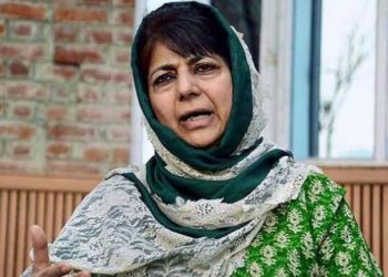 The BJP accuses the former Jammu and Kashmir Chief Minister of instigating violence.