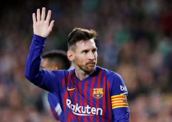 Messi's treble, his second in a month in Seville, fourth of the season and 51st of his career, moves Barca 10 points clear of Atletico Madrid with 10 games left to play.