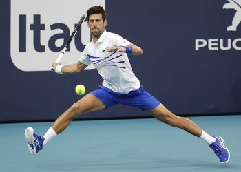 Djokovic is hoping to eclipse Andre Agassi's six ATP crowns in South Florida over the next week.