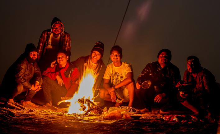 Night camp in Odisha