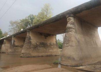 Decades old bridge on verge of collapse