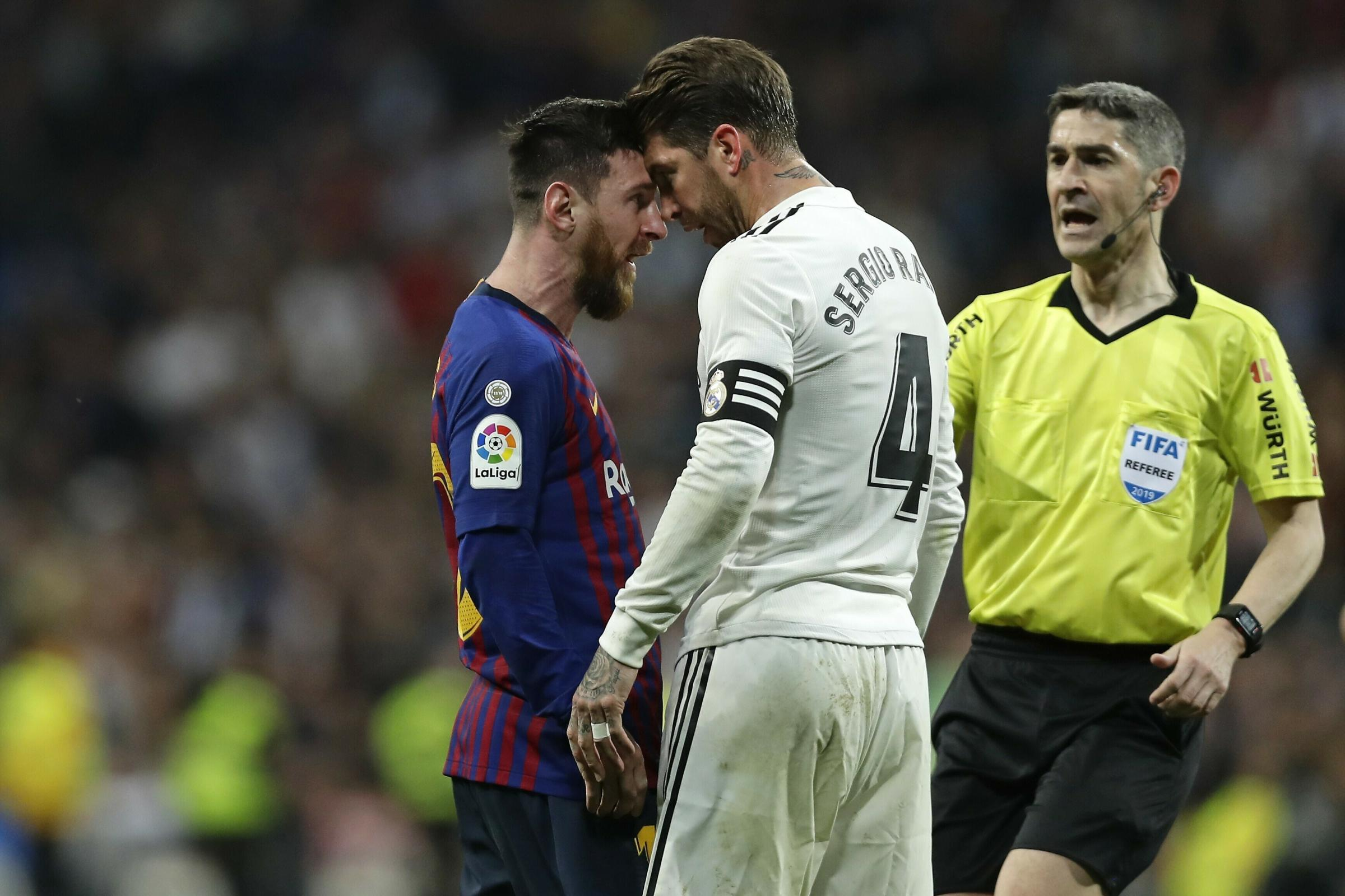 What Sergio Ramos Told His Real Madrid Teammates In El Clasico