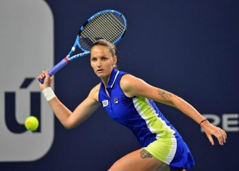 Pliskova beat Halep 7-5, 6-1 to book a berth in the final. (Image: Reuters)
