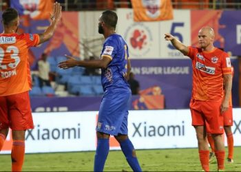Adil Khan gave Pune the lead in the 18th minute before Iain Hume (84th minute) scored the second to seal the match.