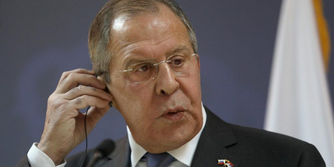 Russia's Forein Minister Sergey Lavrov. (Image: Reuters)